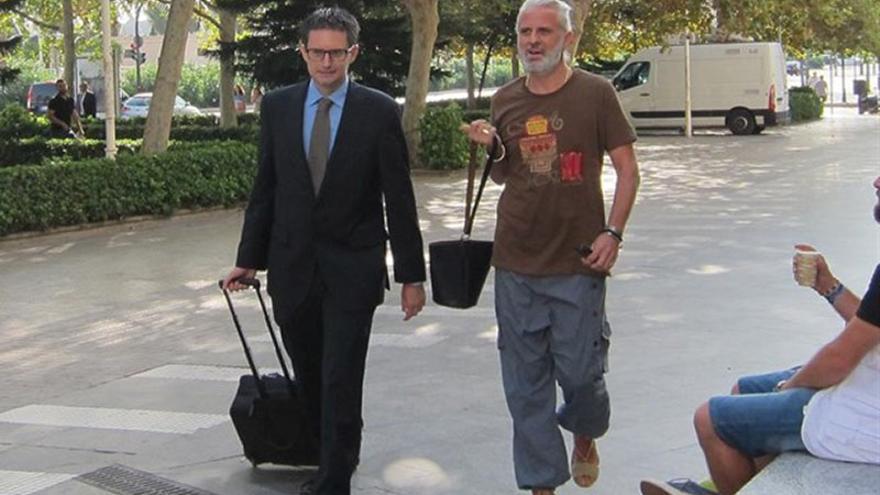 El exgerente de Imelsa, Marcos Benavent, antes de declarar en la Ciudad de la Justicia de Valencia