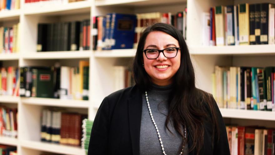 Oyba Valenzuela, presidenta de la Federación Vasca de Jóvenes Abogados
