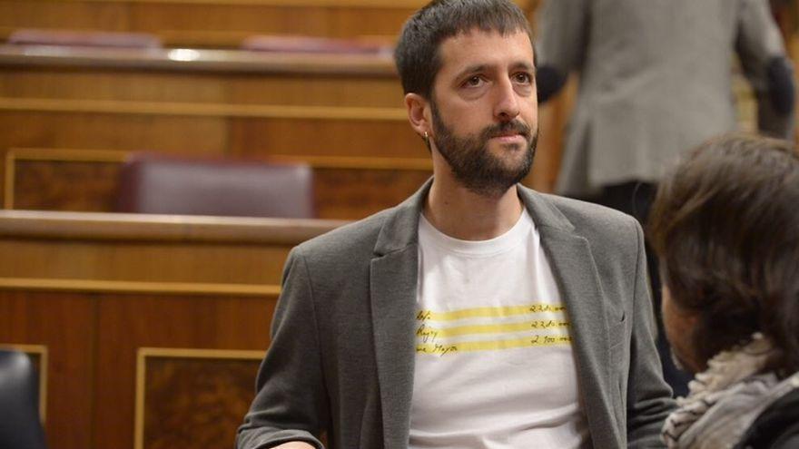 El secretario de Comunicación de Podemos, Juan Manuel del Olmo.