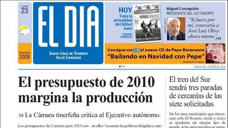 De las portadas del día (23/11/09) #2