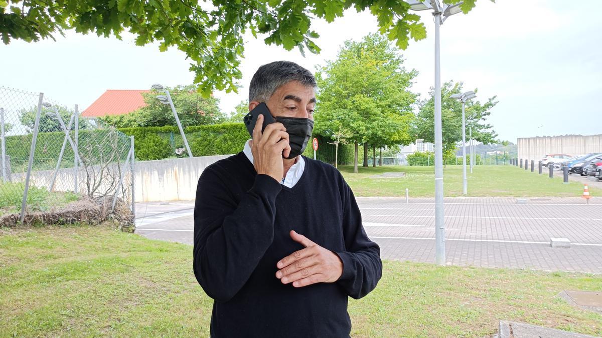 El secretario general de Erne, Roberto Seijo