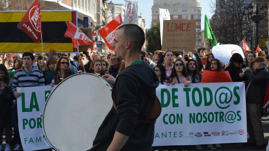 Manifestación estudiantil | LARO GARCÍA
