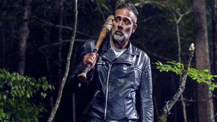 Negan, en un capítulo de 'The Walking Dead'