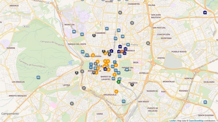 En esta imagen puede verse el acuerdo entre Wikipedia y Open Street Maps