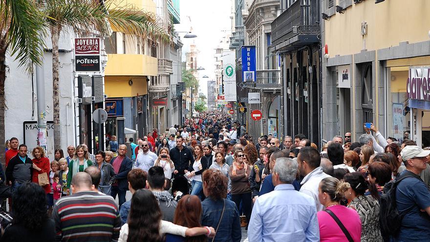 Calle del Castillo, el centro comercial abierto de la ciudad de Santa Cruz de Tenerife