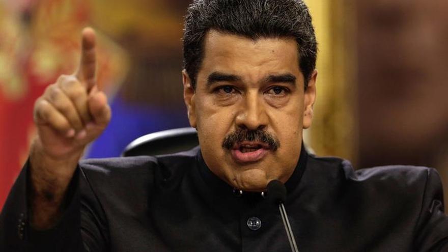 """Maduro se declara en """"fase de denuncia"""" contra la """"persecución financiera"""""""
