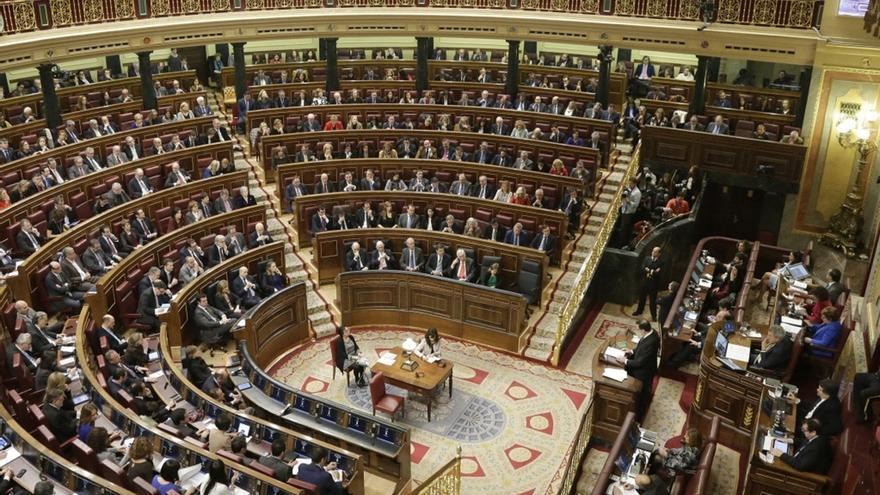 El PSOE y algunas minorías, partidarios de no subir el sueldo a los diputados el 1% previsto para los funcionarios