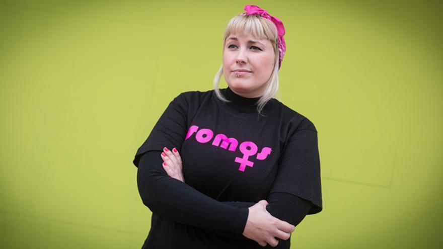Ariadna Marco, portavoz de Somos Más contra la Violencia Machista.