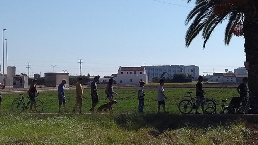 Una de las marchas reivindicativas contra el PGE de Alboraia