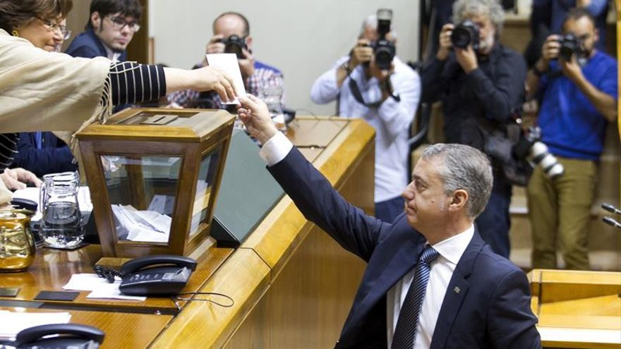 Constituido el nuevo Parlamento Vasco, con el PP fuera de la Mesa