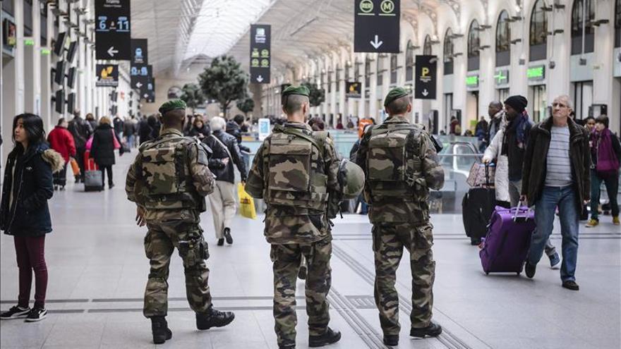 La seguridad en París crece esta Nochevieja con 11.000 efectivos
