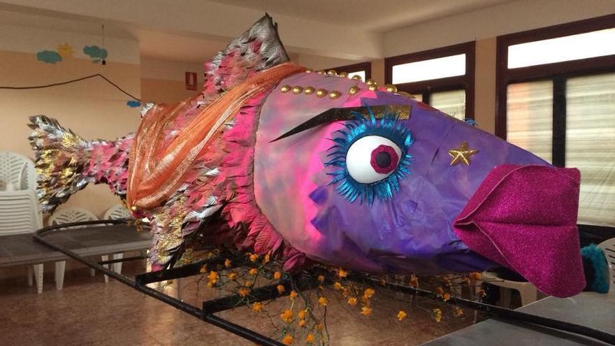 Imagen de archivo de la sardina de Garafía.