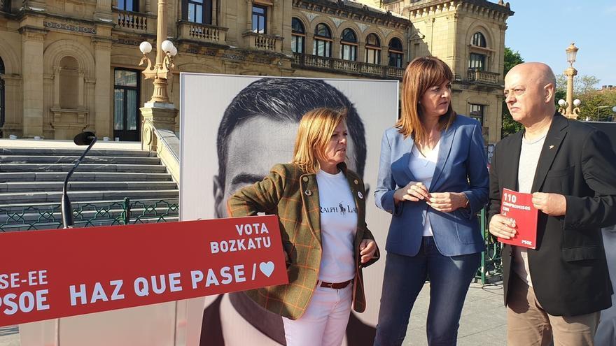 """Mendia defiende """"la pluralidad"""" en el """"campeonato entre los nacionalismos de las derecha de Colón y el vasco"""""""