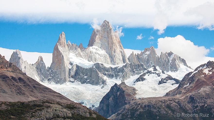 Trekking hacia el Fitz Roy, El Chaltén, Argentina
