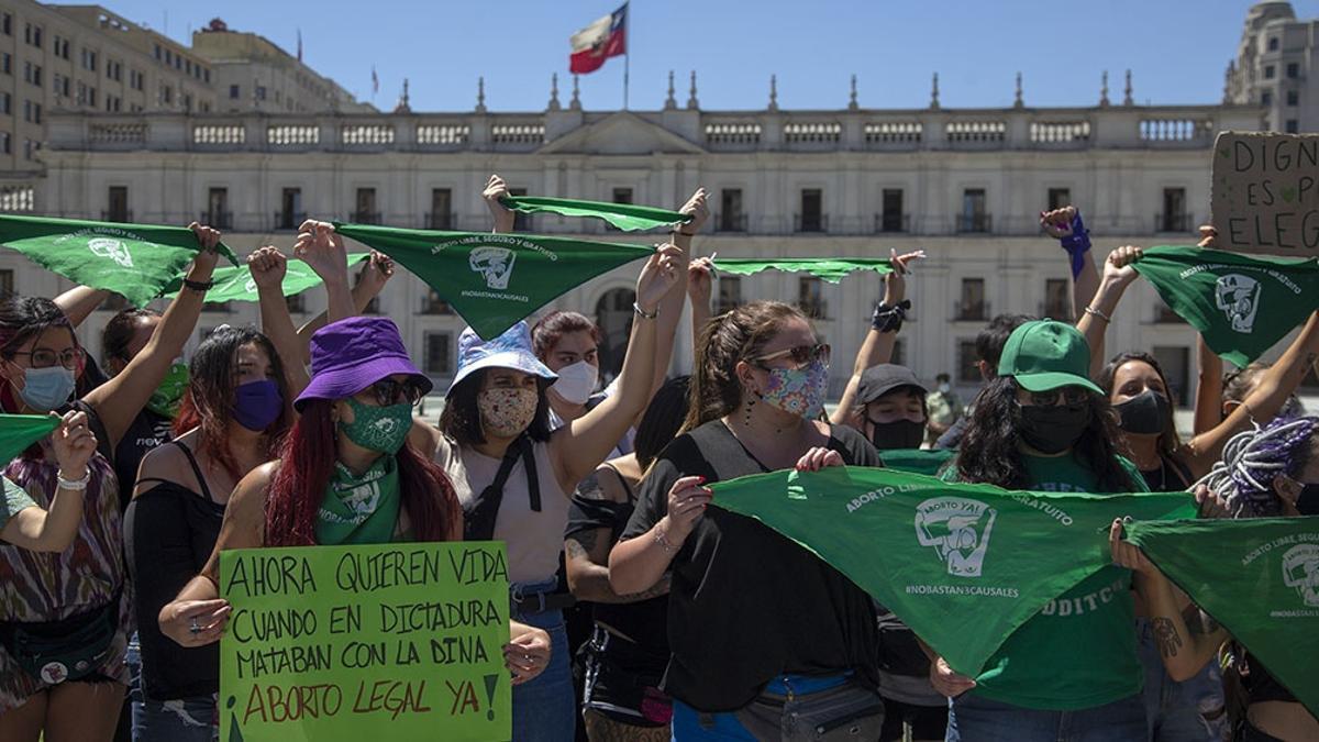 Hasta 2017, según diversos estudios, se realizaban unos 70.000 abortos anuales en Chile, todos ellos en la clandestinidad.