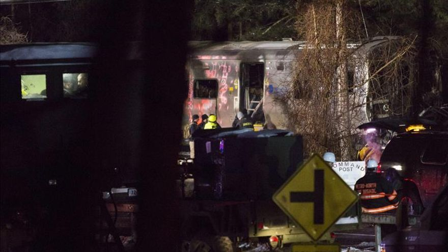 Descartan fallo en las alarmas previas al accidente ferroviario en Nueva York