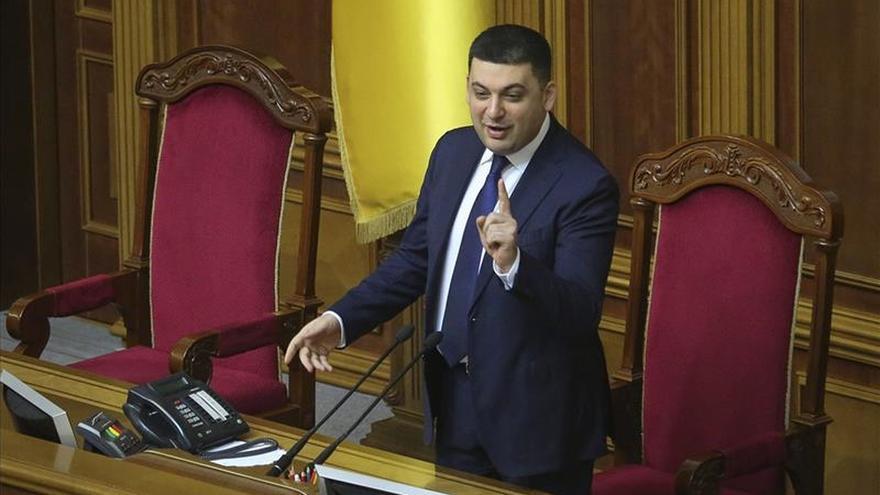 El Parlamento de Ucrania autoriza al Gobierno a imponer sanciones a Rusia