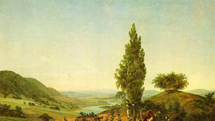 'Der Sommer' -  Caspar David Friedrich