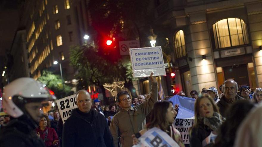 Los cacerolazos regresan a las calles de Buenos Aires en protesta contra el Gobierno
