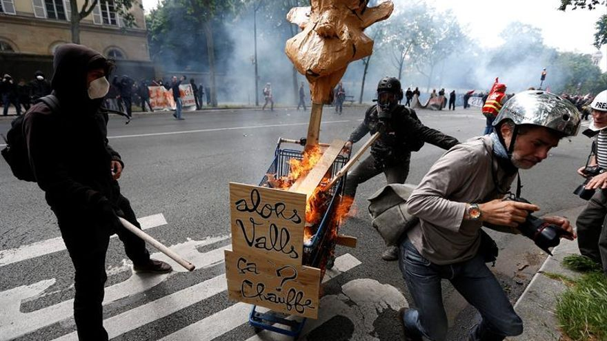 Prohibida la manifestación de mañana en París contra la reforma laboral