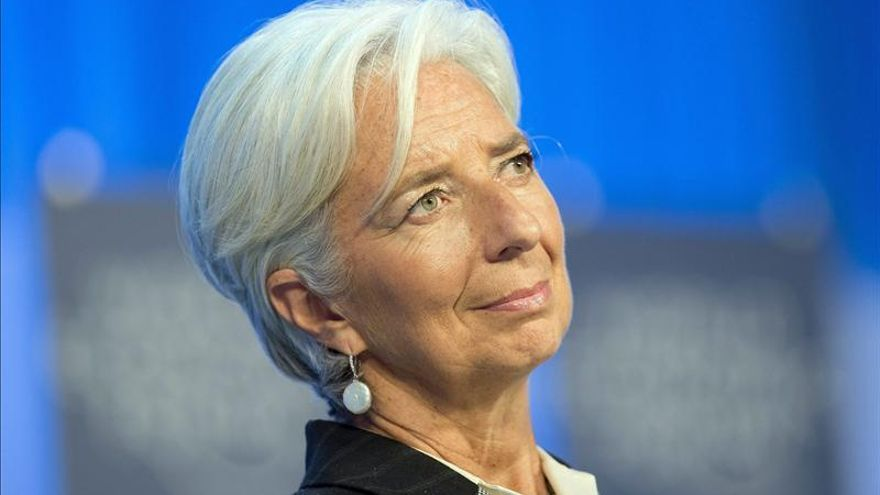 La directora del Fondo Monetario Internacional (FMI), Christine Lagarde. / Efe