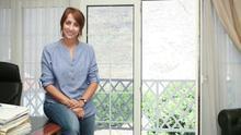 Onalia Bueno, alcaldesa de Mogán, en su despacho