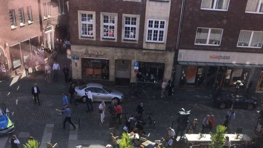 Atropello múltiple en la ciudad alemana de Münster