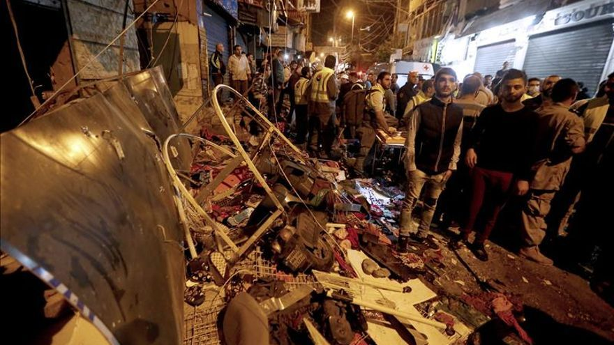 Líbano amanece de luto tras el atentado que causó 43 muertos y 239 heridos