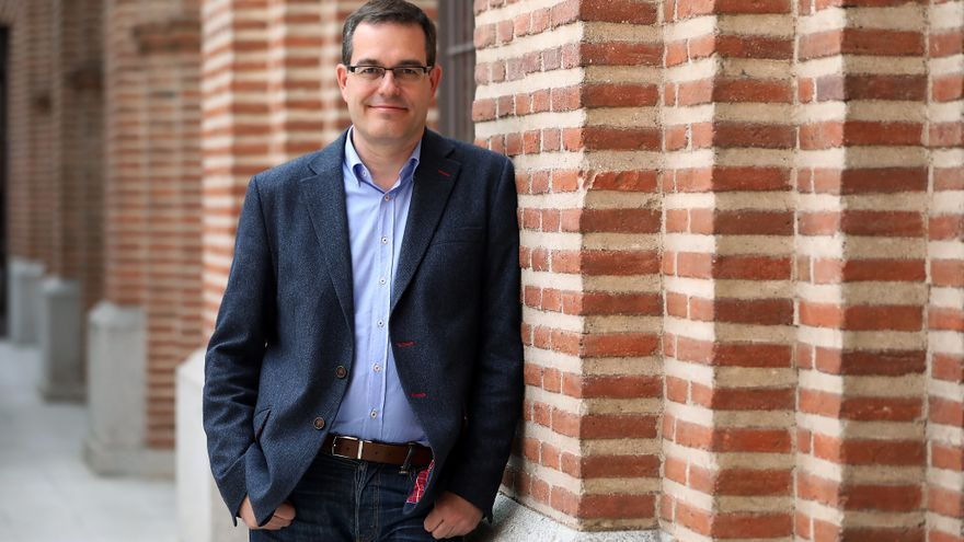 El concejal Chema Dávila, candidato a las primarias del PSOE al Ayuntamiento de Madrid