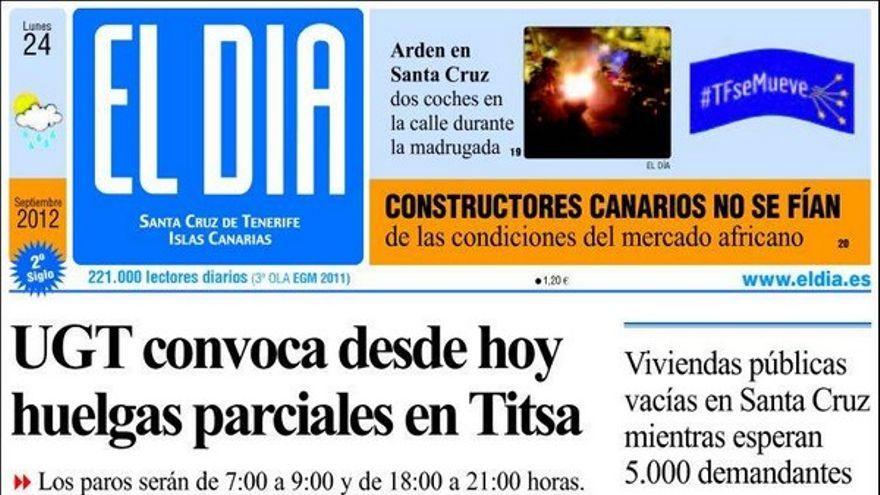 De las portadas del día (24/09/2012) #4