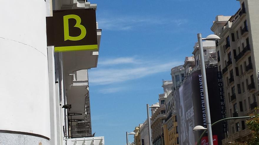 Sucursal de Bankia en la Gran Vía de Madrid. Foto: J.P.V.-G.