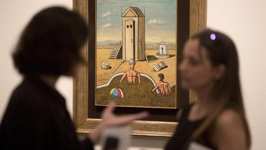La obra del enigmático y metafísico Giorgio de Chirico llega a Barcelona