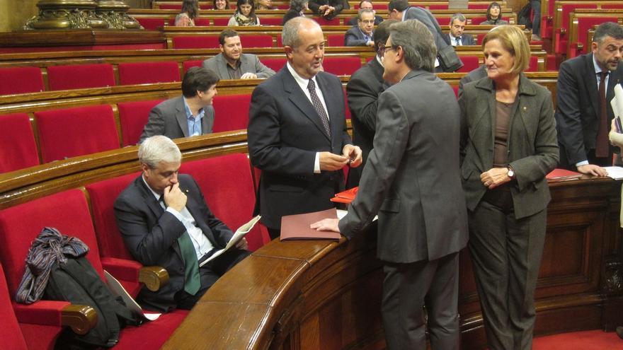 Mas compara la reacción de Sánchez-Camacho a su plan con el 'Váyase señor González' de Aznar