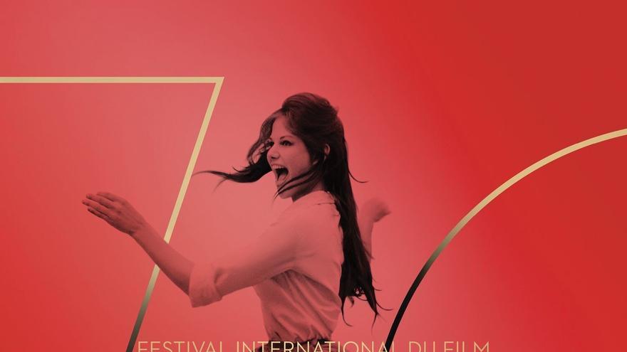 Cartel de la 70º edición del Festival de Cannes protagonizado por Claudia Cardinale