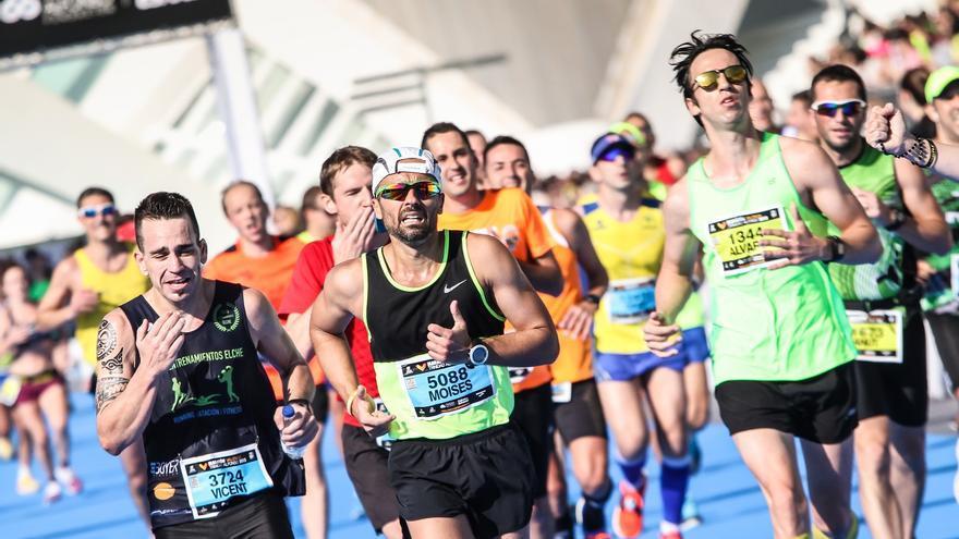 Imagen del Maratón Valencia