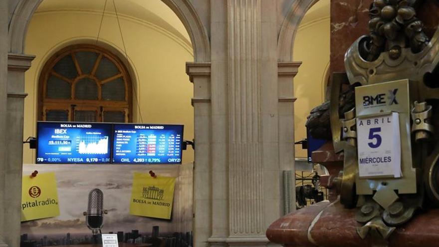 La Bolsa española pierde también los 10.400 puntos tras ceder el 0,40 %