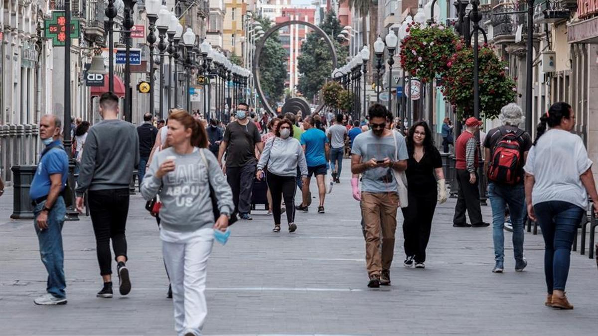 Calle Triana, en Las Palmas de Gran Canaria