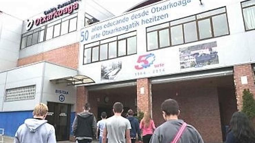 Centro Formativo Otxarkoaga, uno de los que ha tenido que devolver el dinero de los cursos.