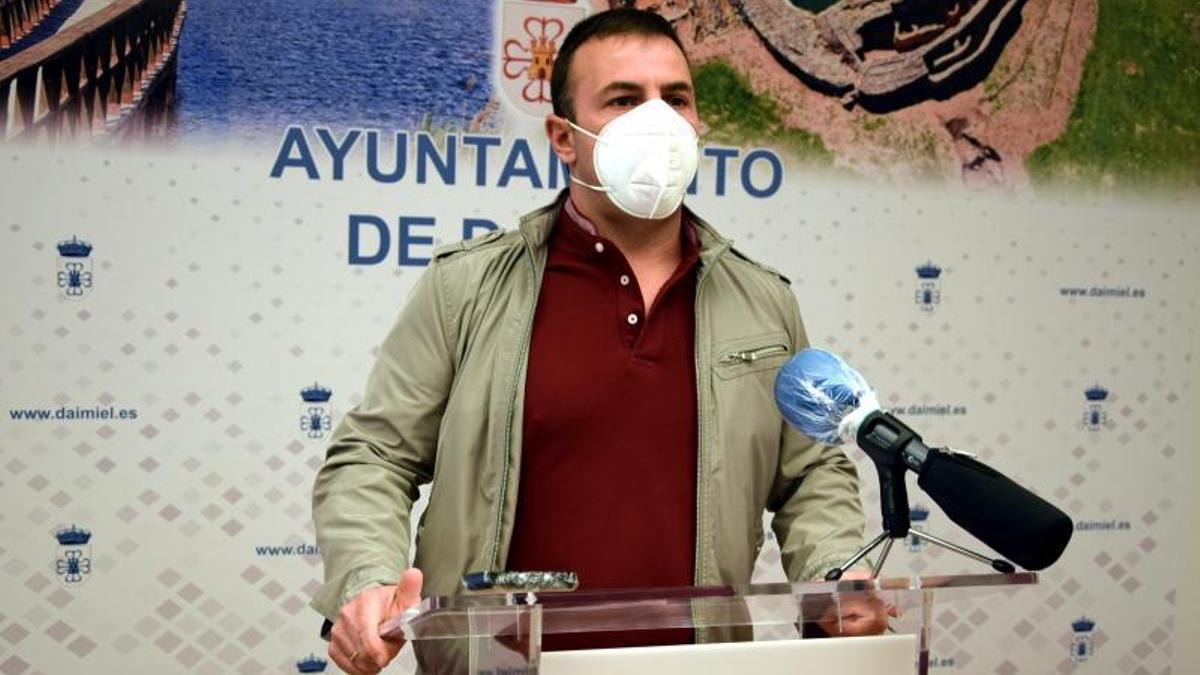 El concejal de Medio Ambiente de Daimiel, Javier Fisac