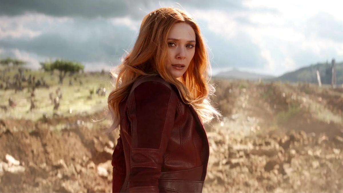 Elizabeth Olsen como 'Bruja Escarlata'