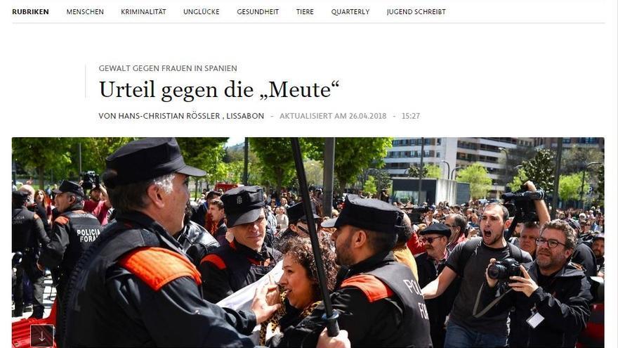 Frankfurter Allgemeine La Manada