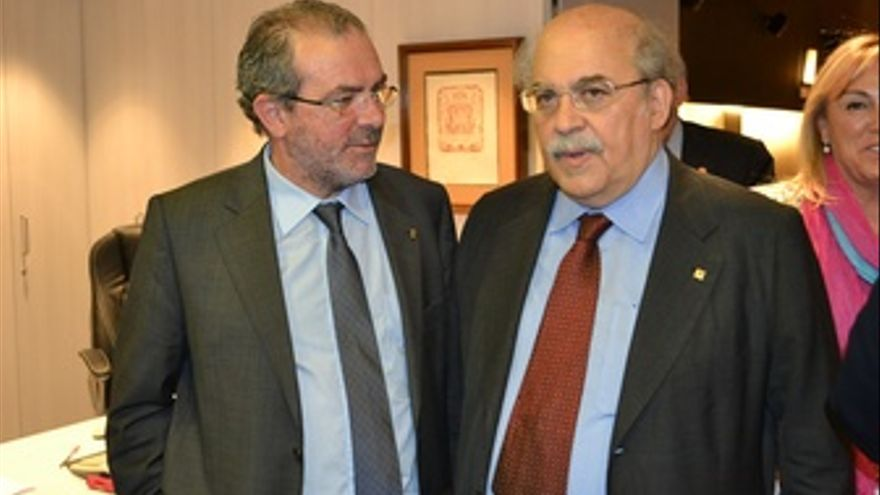 El Conseller De Economía, Andreu Mas-Colell