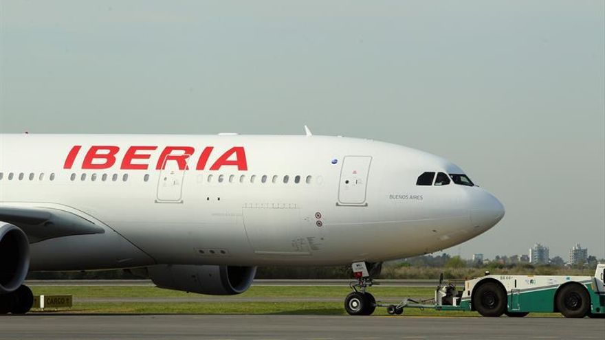 Iberia retoma mañana los vuelos a Caracas con su avión más grande