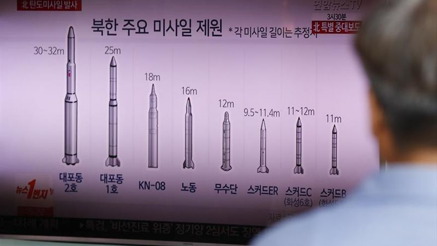 Rusia dice que el cohete norcoreano no era intercontinental