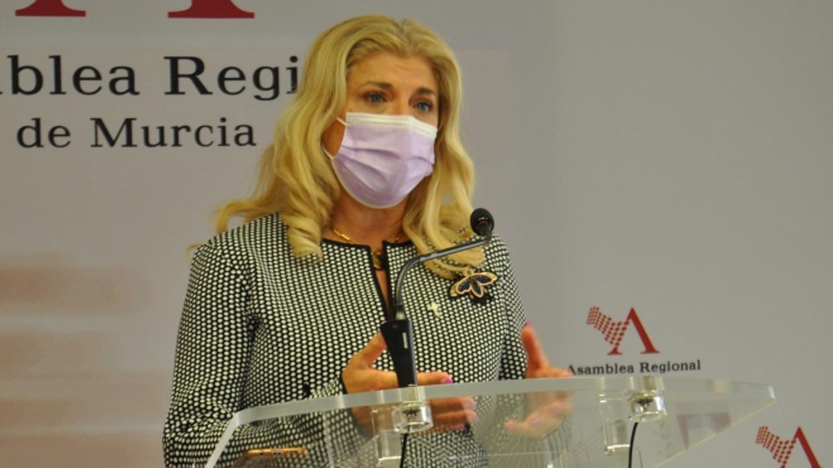 Gloria Alarcón, diputada del PSOE-PSRM