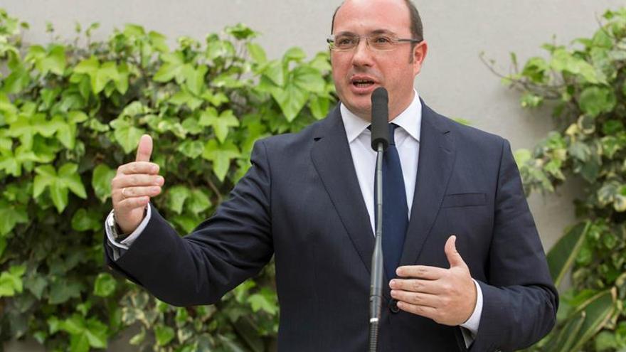 El presidente de Murcia dimitido, Pedro Antonio Sánchez.
