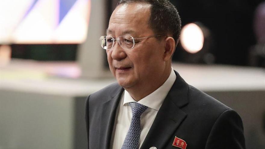 """El canciller norcoreano amenaza con """"hacer llover fuego"""" sobre Estados Unidos"""