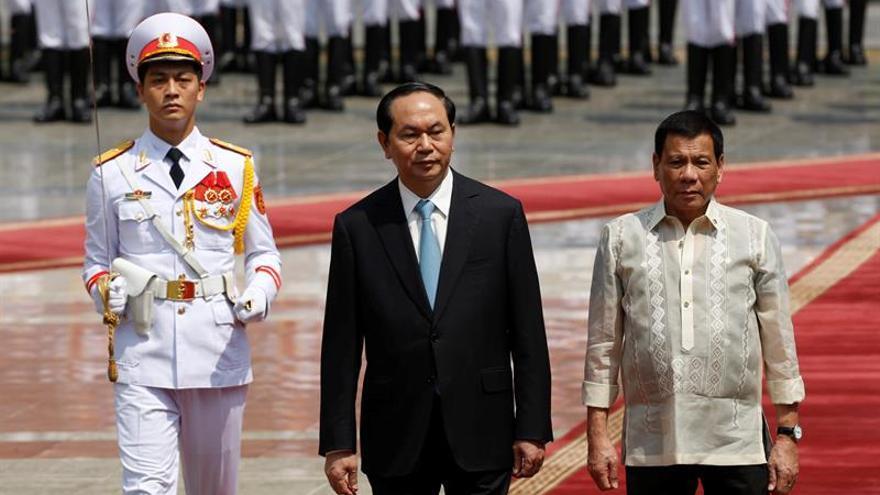 El presidente filipino quiere poner fin a los ejercicios militares con EEUU