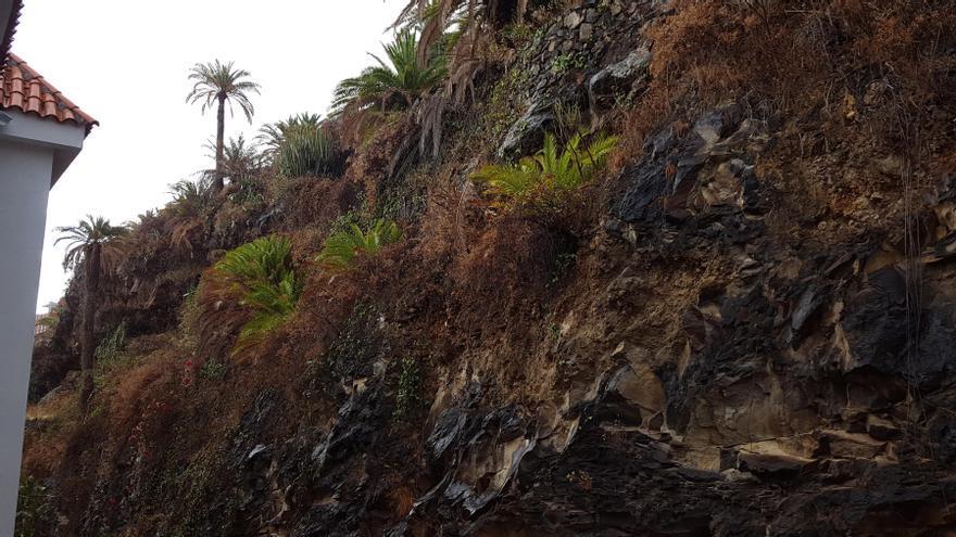 Una ligera llovizna cae en las zonas este y noreste de La Palma.