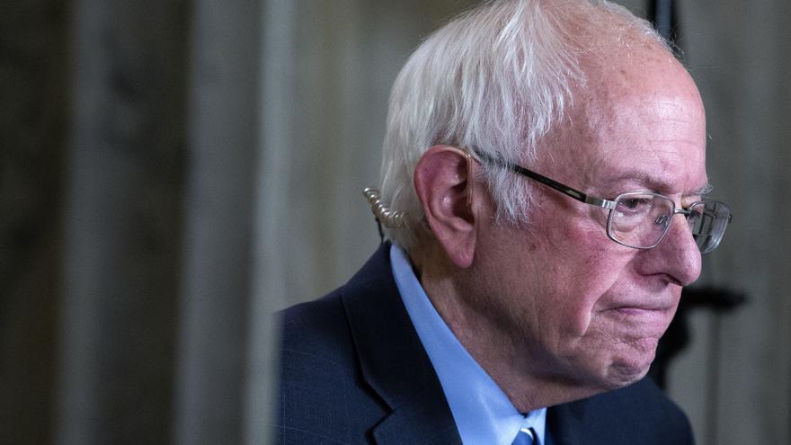 Bernie Sanders en una imagen de archivo.